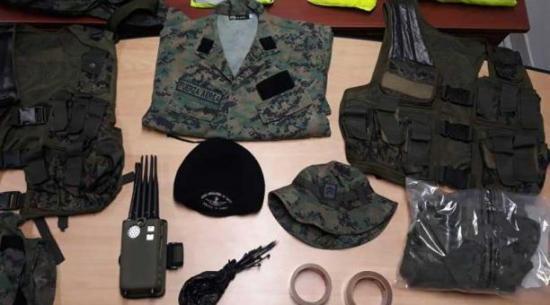 Detienen a dos miembros de Fuerza Aérea Ecuatoriana por asociación ilícita