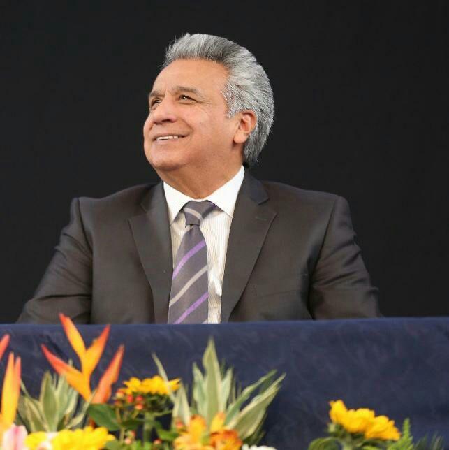 El presidente Lenín Moreno llama a empresarios a invertir en su país