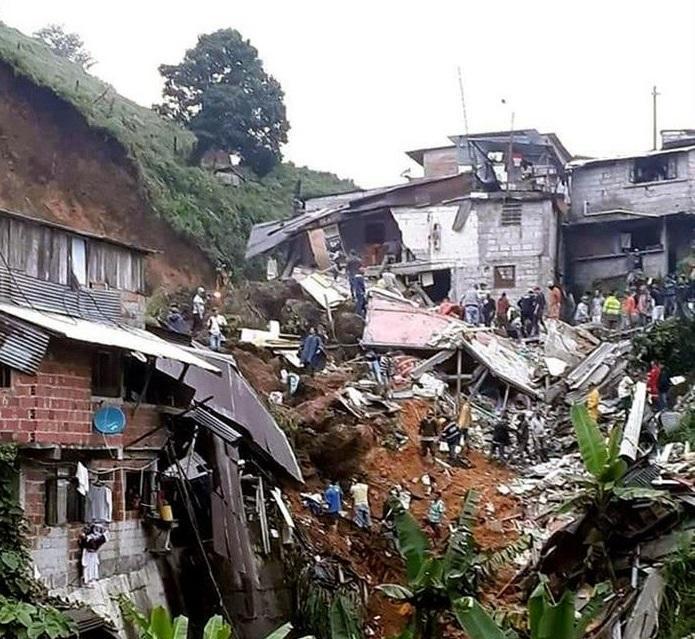 Asciende a 11 la cifra de muertos por deslizamiento en Caldas, Colombia