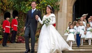 Eugenia, nieta de Isabel II, se casa en el medieval castillo de Windsor