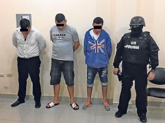Acusados de sacapintas