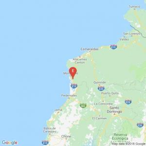 Sismo de magnitud 4,8 se registró en Esmeraldas