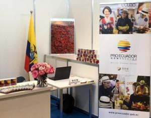 Ecuador promociona su gastronomía y productos en Asia