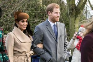 Meghan Marckle y el príncipe Enrique esperan su primer hijo