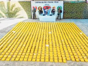 """Frontera: Incautan 940 kilos de cocaína de alias """"Guacho"""""""