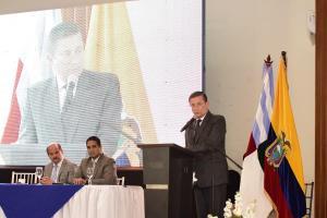 Proyecto de nueva Terminal Terrestre se anunció en sesión solemne de Portoviejo