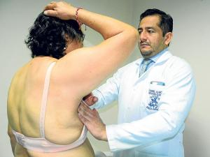 Cáncer de mama con un semestre de alta incidencia