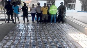 La droga hallada entre San Vicente, Jama y Pedernales, estaba enterrada
