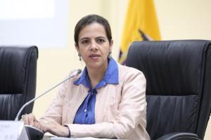 María Paula Romo: ''Interpol no ha rechazado el pedido de difusión roja contra Correa''