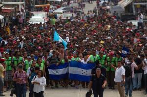 Más de 2.000 hondureños regresan al país tras desistir de seguir viaje a EEUU