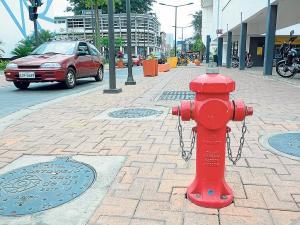 Mitad de los hidrantes están dañados