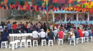 Confraternidad de organizaciones campesinas en Pepa de Huso