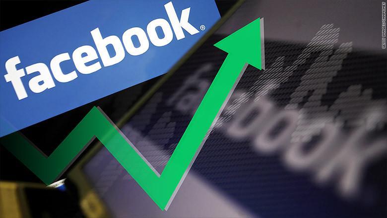 Facebook genera 30 % más de ganancias en nueve meses