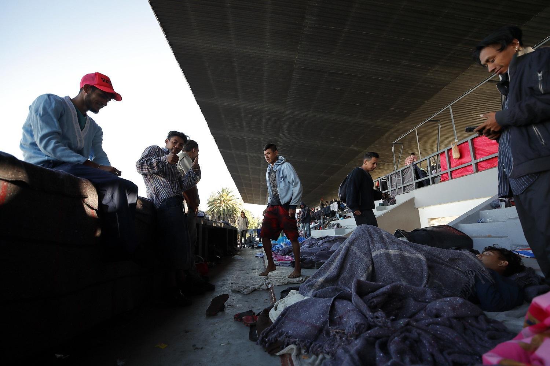Caravana migrante se agrupa en México y toma fuerzas para llegar a EEUU