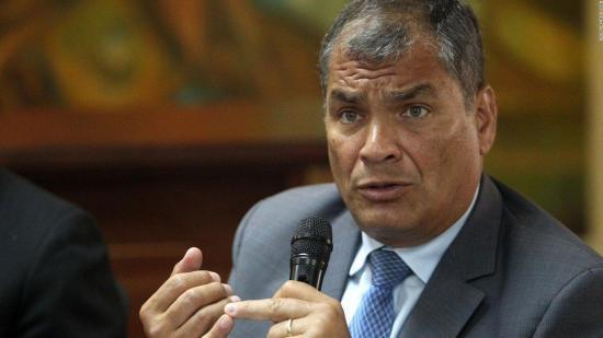 Correa aún no ha pedido asilo en Bélgica pero asegura que lo estudia