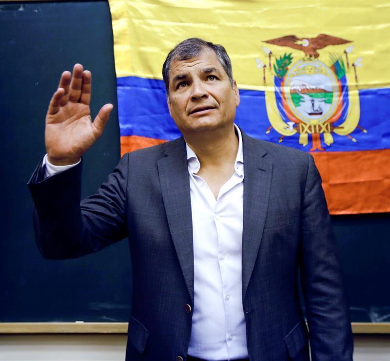 Decisión de asilo de Correa depende de recursos en instancias internacionales