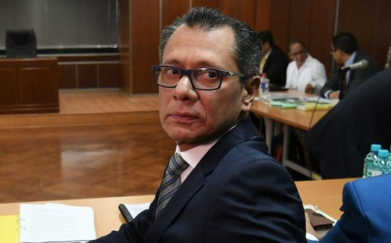 Dan alta a Jorge Glas y regresa a prisión en Latacunga
