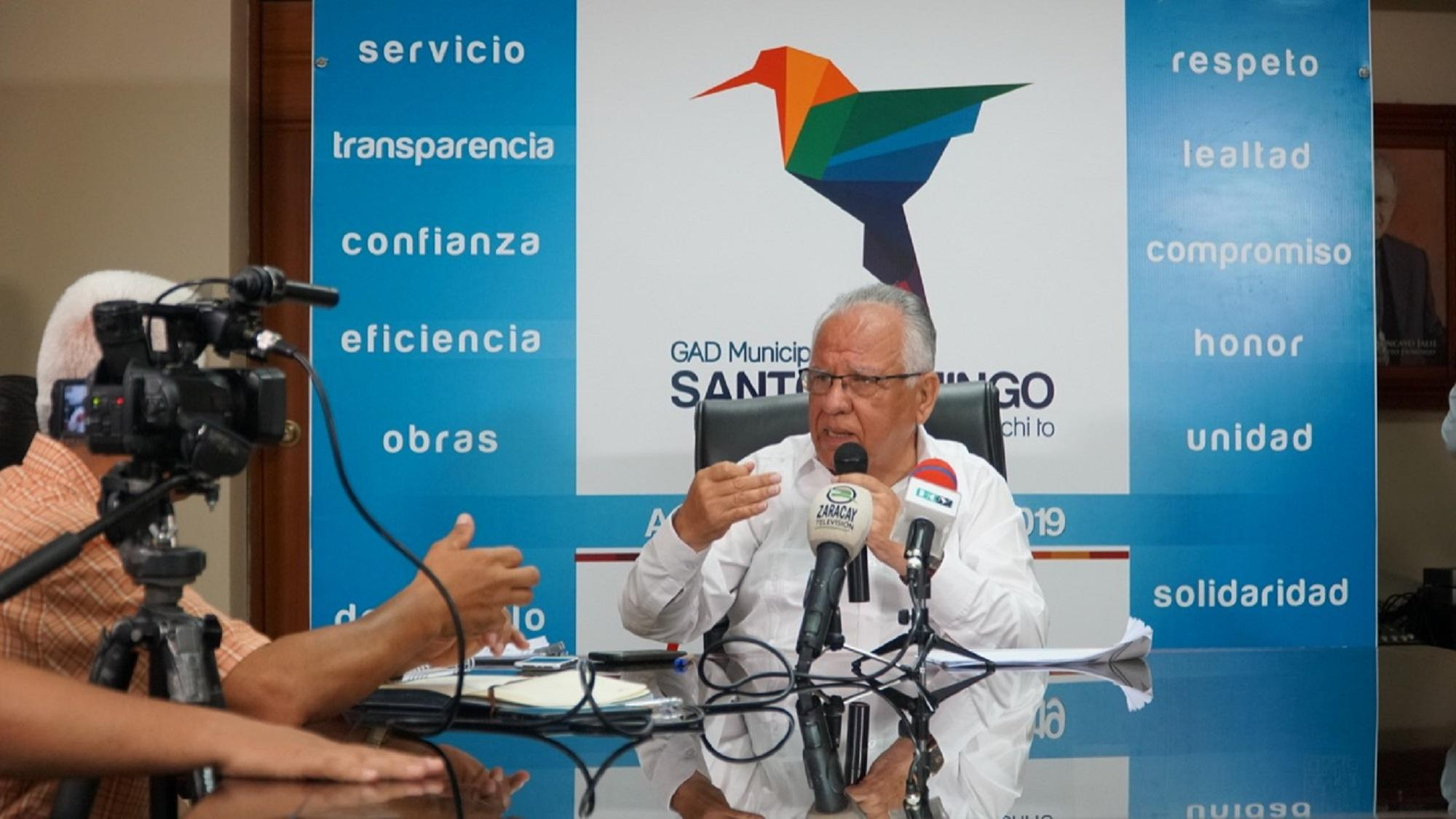 Quirola propone tributación in situ