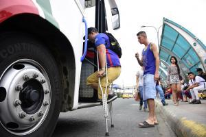 Lo regenerado ya es  accesible, los buses no