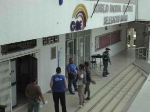El CNE avanza en el proceso elecciones