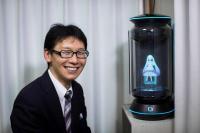 Un japonés se 'casó' con un holograma