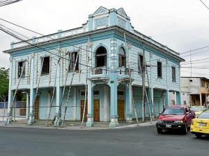 Portoviejo: Edificio de Estancos será restaurado