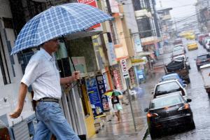 Las lluvias llegan a la provincia