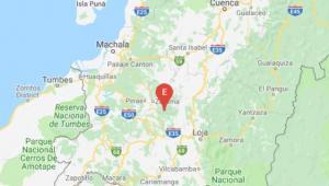 Un sismo de magnitud 4 ocurrió en la provincia de El Oro
