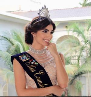 Virginia Limongi tuvo que llorar como Magdalena para viajar a Tailandia al Miss Universo