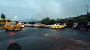 Suspenden clases en Imbabura por protesta de transportistas