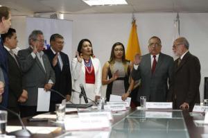 Se eligieron los vocales del Consejo Nacional Electoral para los próximos años