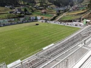 Este sábado se inaugura en Ecuador un estadio de fútbol a 3.200 metros sobre el nivel del mar