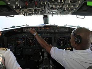 Piloto observó  un ovni