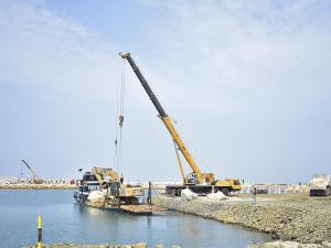 El fondeo del muelle tendrá  hasta 8 metros