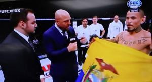 Voy a llevar la UFC a Ecuador afirma el manabita Chito Vera tras ganar en Argentina