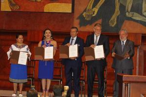 Los nuevos vocales del Consejo Nacional Electoral fueron posesionados