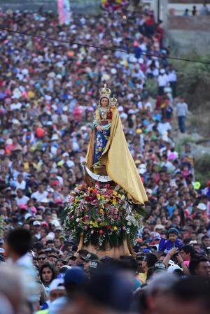 Hoy habrá cierre de vías por la Virgen de Monserrate