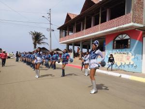 Canoa celebra 196 de parroquialización con desfile, festival y romería
