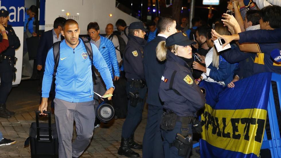 Boca Juniors llegó a Madrid y causó revuelo en sus hinchas