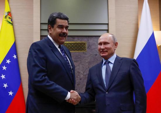 Putin recibe a Maduro en Moscú y condena cualquier acción contra Venezuela