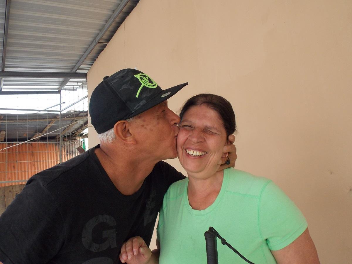 Guido y Margarita no se pueden ver, pero se aman con locura