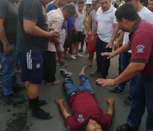 Choque entre motos deja una persona herida en Paján