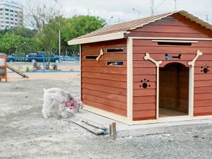 Manta ya cuenta con su primer  parque canino de 3 mil metros