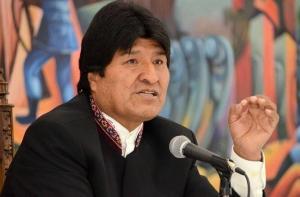 Morales dice que exgobernantes críticos de su reelección defienden al imperio