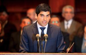 Nuevo vicepresidente de Ecuador asume el cargo con un llamamiento a la unidad