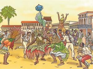 La fiesta de los afros