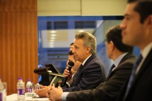 Moreno destaca oportunidades de invertir en Ecuador para las empresas chinas