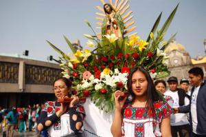 Más de 10 millones de peregrinos llegan a la Basílica de Virgen de Guadalupe