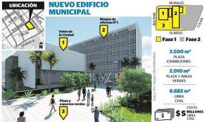 El 16 Licitan  El Edificio  Municipal