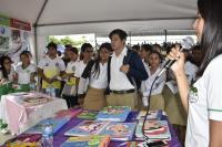 Cinco unidades educativas expusieron sus conocimientos.